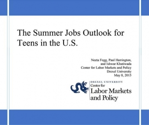 TEENS FACE SUMMER SCARCITY OF JOBS